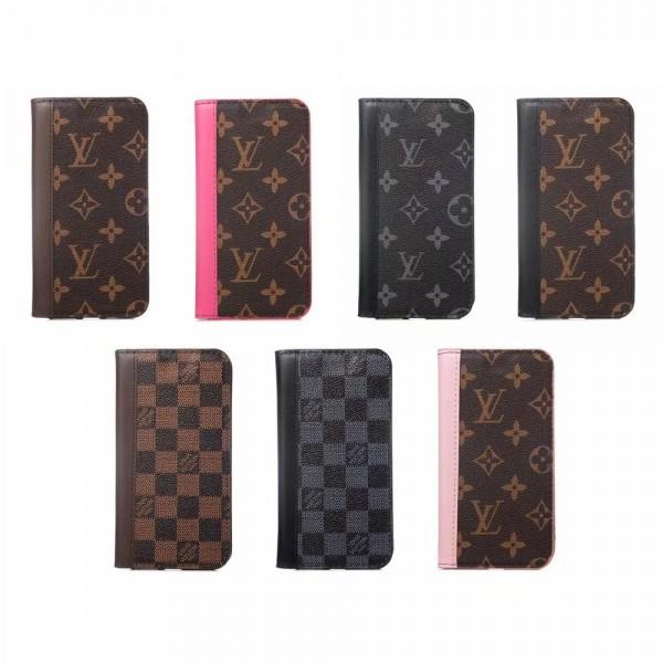 iphone 12/12 Mini/12 Pro/12 Pro Max ケース ルイ ヴィトン/LV iphone11/11pro/11 pro maxケース ブランドlv iphone xr/xs maxケース 手帳型ビジネス風 iphone x/8/7 plusケース ファッションオシャレモノグラムダミエ