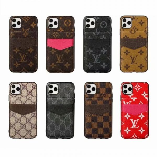 ルイ ヴィトン/LV iphone 11/11 Pro Max/Xr/Xs Max/X/8ケース 大人気iphone12/12mini/12pro/12pro maxケース  グッチ Galaxy S20/S10 Plus/Note10ケース シュプリーム/Supreme iphone7/7 Plusカバー カード付きアイフォン6s/6s Plusケース
