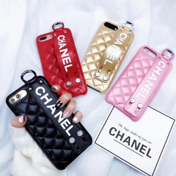 シャネル/Chanel iphone12/12mini/12pro/12pro max/11/11 Pro/11 Pro Max/Xr/Xs maxケース ブランド  オシャレ iphone x/SE2/8/7カバー レディース向け ハンドベルト付き Iphone6/6s Plus Iphone6/6sカバー