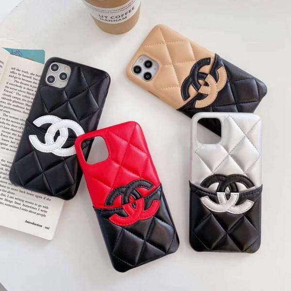 シャネル/Chanel iphone 12/11/X/SE2ケース ジャケット型 大人気iphone12/12mini/12pro/12pro maxケース おまけつき モノグラム ペアお揃い レディース アイフォンXr/Xs/8/7 Plusケース iphone 11/11 Pro Maxケース ブランド シンプル