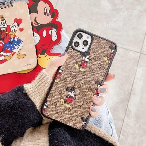 グッチ galaxy S20/Note10/S10/S9 Plusケース ディズニー/Disney ブランド iphone 12/11 Pro Max/Xs Max/xrケース ジャケットアイフォン12カバー レディース バッグ型 ブランド