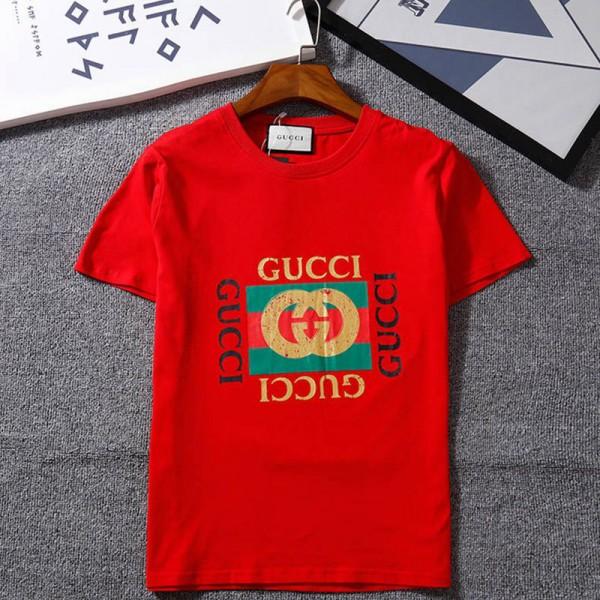 グッチ tシャツ 個性潮流 ティシャツ ラウンドリーダー コットン製カジュアル半袖