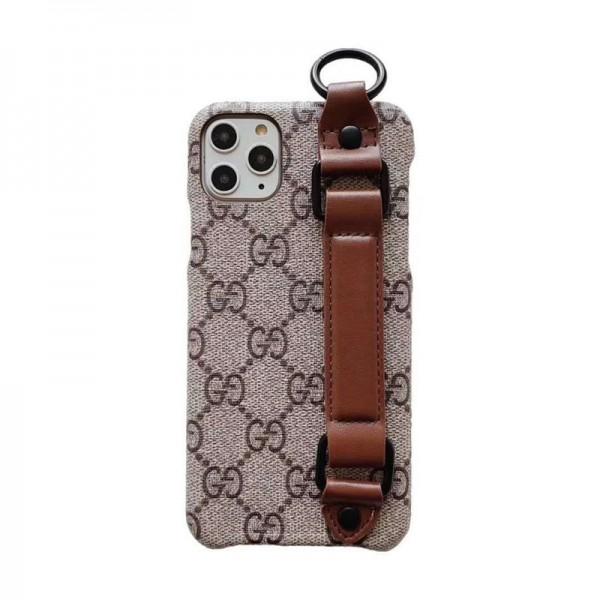 グッチ iphone 12/11pro maxケース ブランド ルイヴィトン/lv iphone xr/xs maxケースお洒落ハンドベルト付き iphone se2/x/8/7 plusケース高級 ファッション大人気