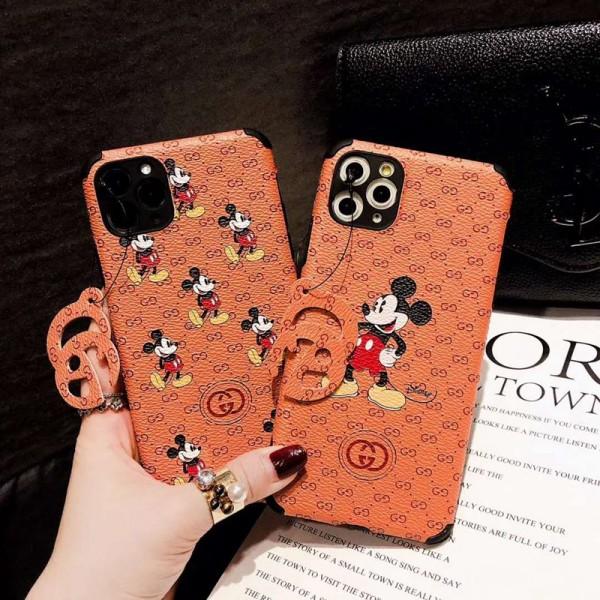 グッチ iphone 12/11 pro maxケース アイフォンiphone x/8/7 plus/se2ケース ファッション経典 ディズニー/Disney メンズ個性潮 iphone xr/xs/xs maxケース ファッションアイフォン12カバー レディース バッグ型 ブランド大人気