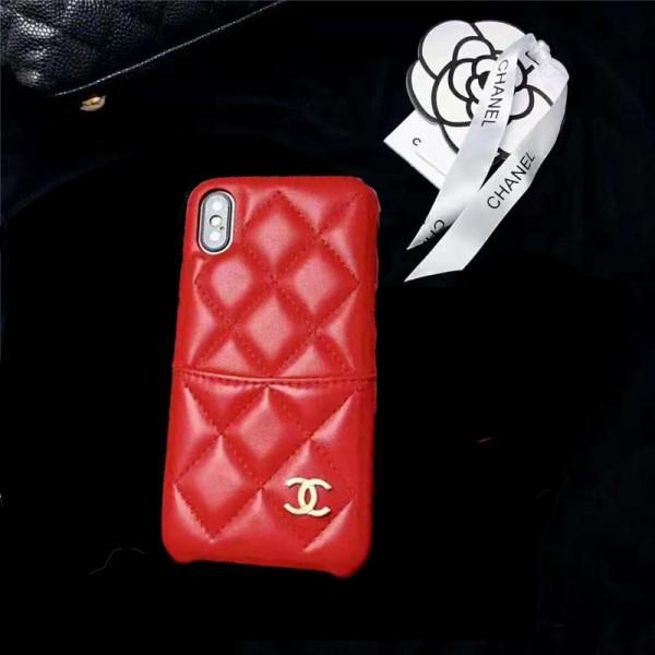 シャネル/chanel iphone 12/11 pro/11 pro max/SE2ケース ブランド iphone xr/xs maxケース 小香風 アイフォンx/12 maxケース カードポケット付きiphone 8/7 plusケース オシャレファッション菱形