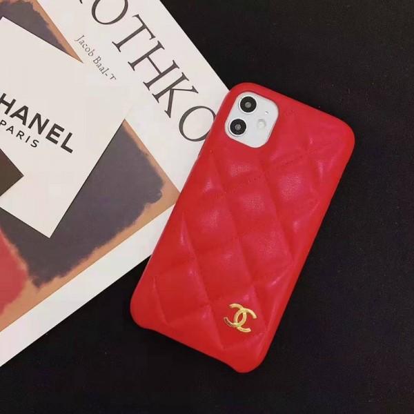 chanelシャネル iphone 12/11 pro maxケース ブランド女性向けアイフォンxr/xs/xs maxケース iphone x/12 maxカバー iphone 8/7 プラスケース菱形 お洒落小香風 激安人気