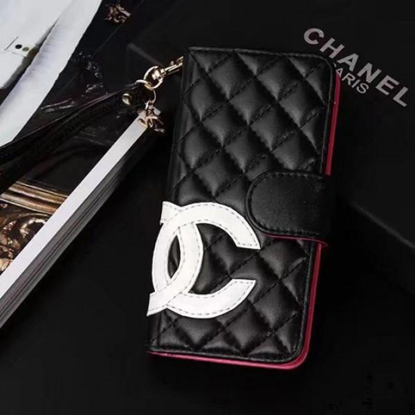 シャネル/Chanel iphone 12/11pro max/xr/xs max/SE2ケース おしゃれブランド iphone xr/x手帳型ケース革製CC付きアイフォン 8/7/6s plusケースレディース向け人気ストラップ付き