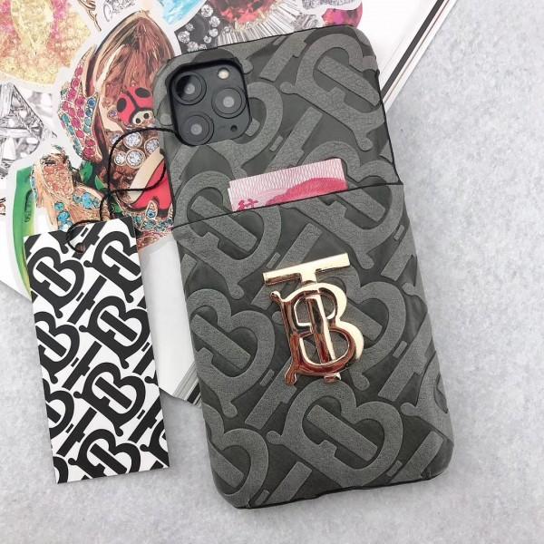 Burberry バーバリー iphone12/12 pro/11/11pro max/SE2ースブランドポケット付きiphone xr/xs maxケースオシャレ新品アイフォンse2/x/8/7プラスケースジャケットgalaxy s20/note20/note10/s10ケースファッションイギリス風