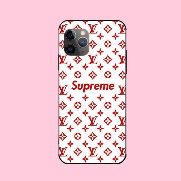 Supreme LV/ルイヴィトン コラボ iphone 13 mini/12 pro/12 max/12 pro max/11/11pro max/se2ケース xperia 10/1iiケース galaxy s20/s20+ 激安 ブランド Galaxy s20/note10/s10/s9 plusケース