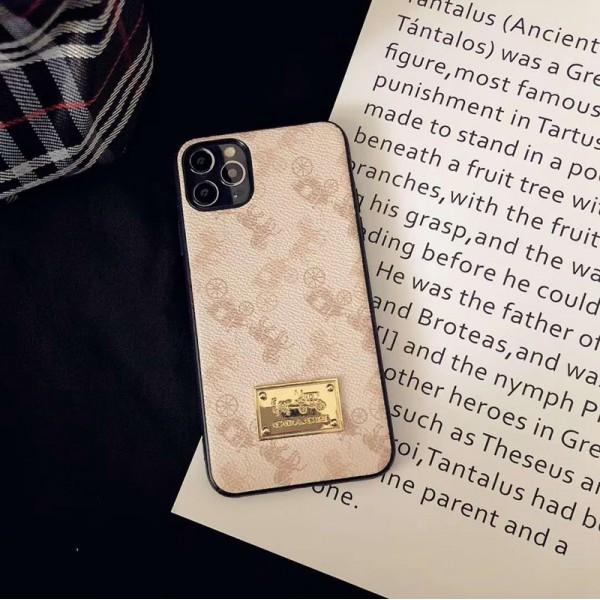 Coach/コーチペアお揃い アイフォン12/12mini/12pro/12pro maxケース iphone xs/x/8/7 plus/se2ケース女性向けiphone xr/xs max/11proケースブランド男女兼用人気ブランド