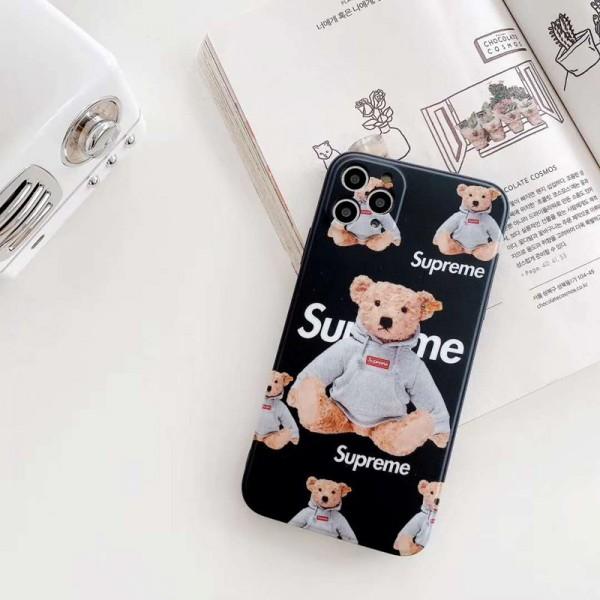 Supreme/シュプリームiphone12/12 mini/12 pro/12 pro maxケース ビジネス ストラップ付きシンプル iphone se2/x/8/7 plusケース ジャケットiphone xr/xs max/11proケースブランド