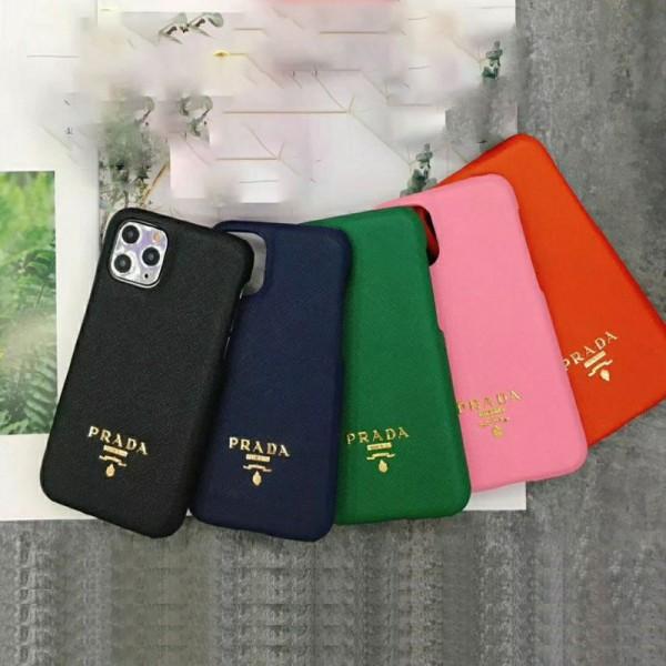 Prada/プラダ ペアお揃い アイフォン12/12mini/12pro/12 pro maxケース ファッション セレブ愛用 iphone12/12proケース 激安シンプル iphone 11/xs/x/8/7ケース ジャケット