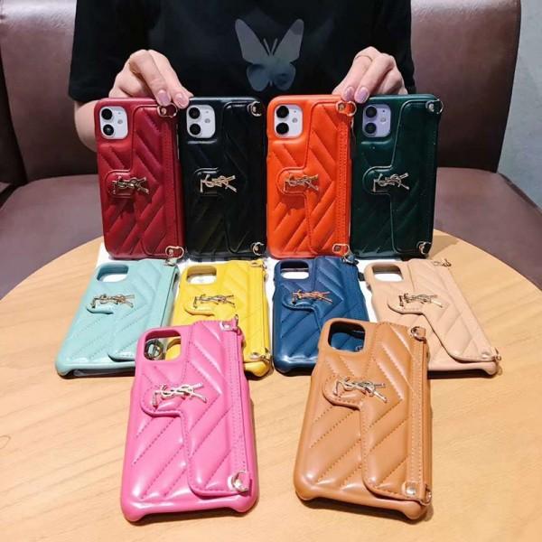 YSL/イブサンローランiphone 12/12mini/12pro/12pro maxケース 韓国風 iphone11/11pro maxケース セレブ愛用  iphone se2/x/xs/xr/8/7 plusケースハイブランドケース パロディ