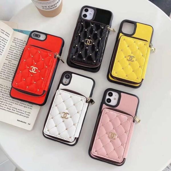 Chanel/シャネル ペアお揃い アイフォン12/12mini/12pro/12 pro maxケース iphone xs/x/8/7 plusケース ブランド アイフォンiphone 11/11 pro max/se2ケース おまけつきアイフォン12カバー レディース バッグ型 ブランド