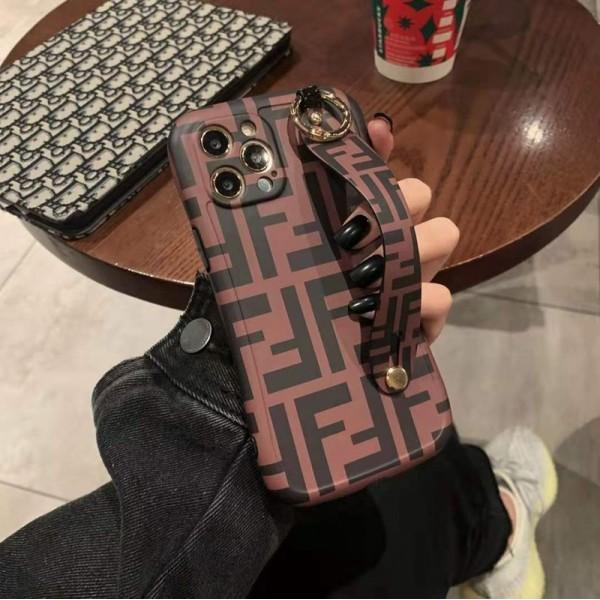 フェンディ/FENDI ブランド iphone12/12mini/12pro/12pro maxケース かわいい ビジネス 縫い布製 個性潮 おまけつき iphone x/xr/xs/xs max/8plus/11proケース ファッション アイフォン12mini/12 pro maxカバー バッグ型 レディース
