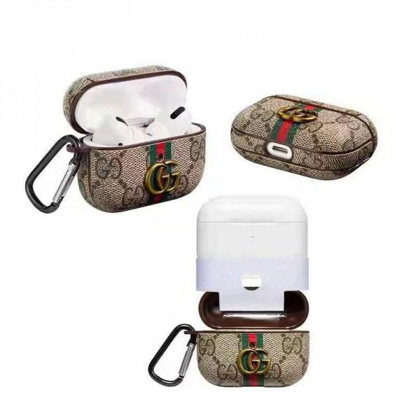 グッチ Airpods proケースブランド Air pods 2/1世代ケースゴヤール エアーポッズプロケース 軽量携帯便利 紛失防止 落下防止